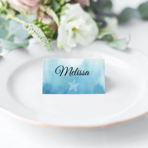 Ocean Dreams Place Card
