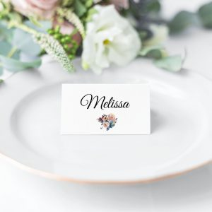 Misty Rose Place Card