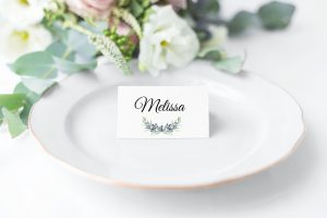 Olive and Lavender Place Cards