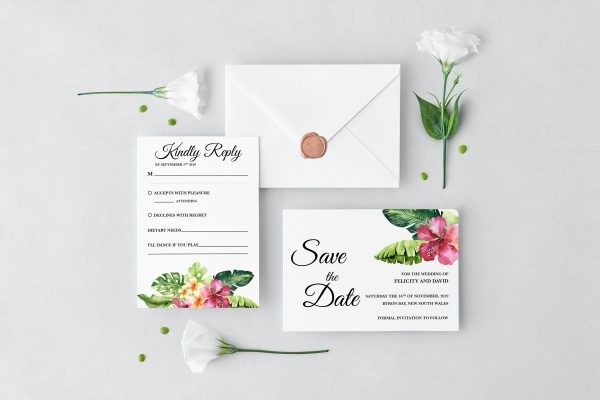 Aloha Wedding Set