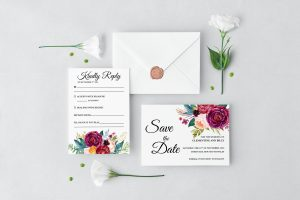 Berry and Blush Blooms Wedding Set