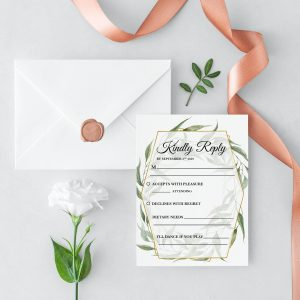 Byron Wilderness RSVP Card