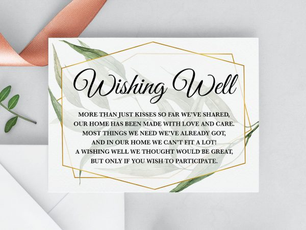 Byron Wilderness Wishing Well Card