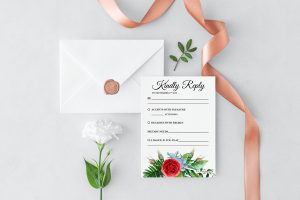 Crimson Natives RSVP Card