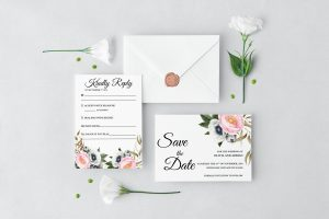 Dusty Blooms Wedding Set