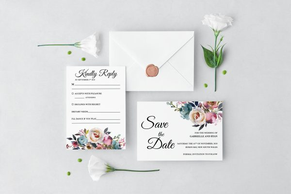 Misty Rose Wedding Set