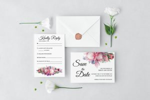 Native Florals Wedding Set