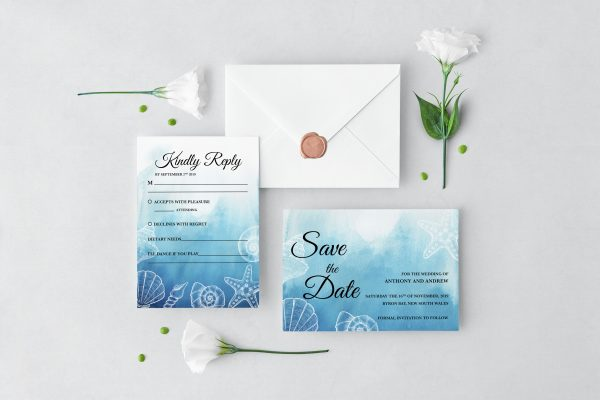 Ocean Dreams Wedding Set