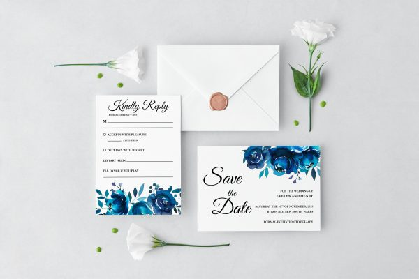 Something Blue Wedding Set