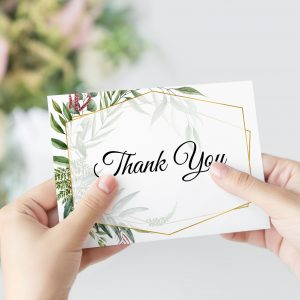 Byron Wilderness Thank You Card