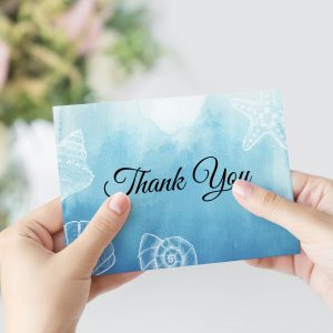 Ocean Dreams Thank You Card