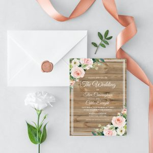 Country Belle Wedding Invitation