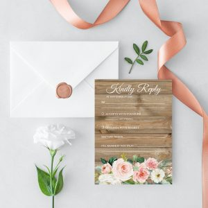 Country Belle RSVP Card