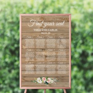 Country Belle Seating Chart
