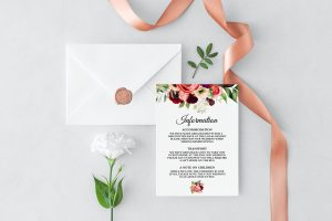 Autumn Blooms Information Cards