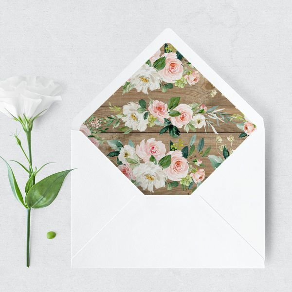 Country Belle Envelope Liner