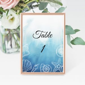 Oceans Dreams Table Numbers