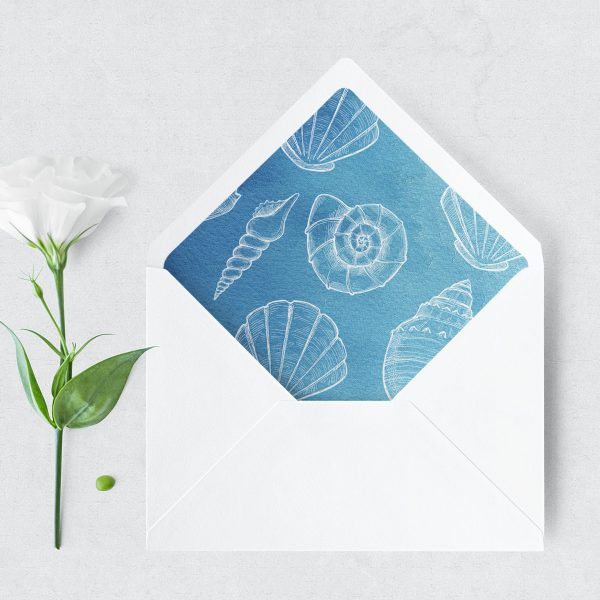 Ocean Dreams Envelope Liner