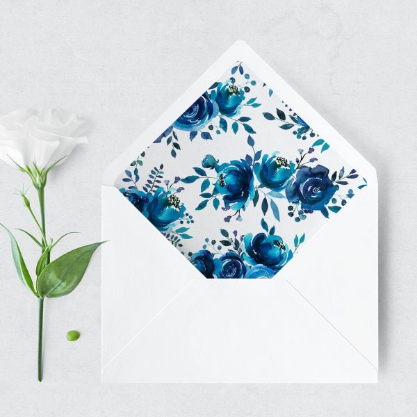Something Blue Envelope Liner