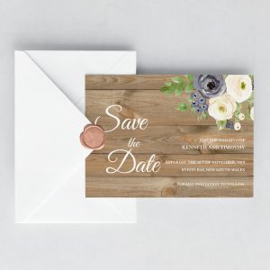Forever After Save the Date Cards