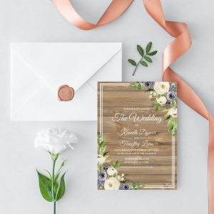 Forever After Wedding Invitation
