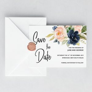 Cottage Enchantment Save the Date Cards