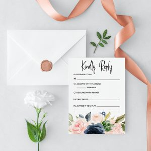 Cottage Enchantment RSVP Cards