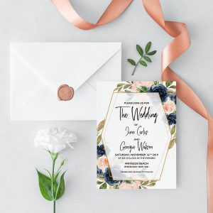 Cottage Enchantment Wedding Invitation