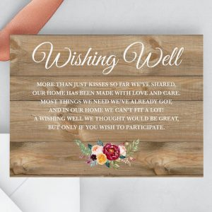Cottage Garden Wishing Well Cards