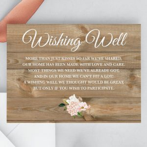 Country Hydrangeas Wishing Well Cards