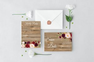 Country Blooms Wedding Set