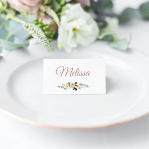 Dusty Belle Place Cards