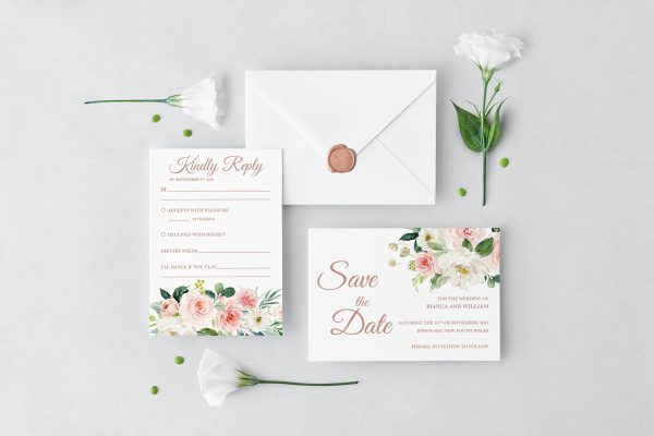 Dusty Belle Wedding Set