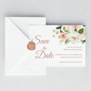 Dusty Belle Save the Date Card