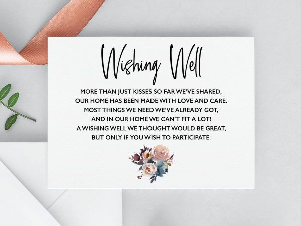 Dusty Posies Wishing Well Cards