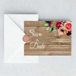 Forever Lover Save the Date Cards