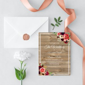 Forever Lover Wedding Invitation