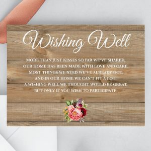 Forever Lover Wishing Well Cards