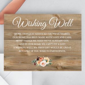 Golden Hour Wishing Well Cards