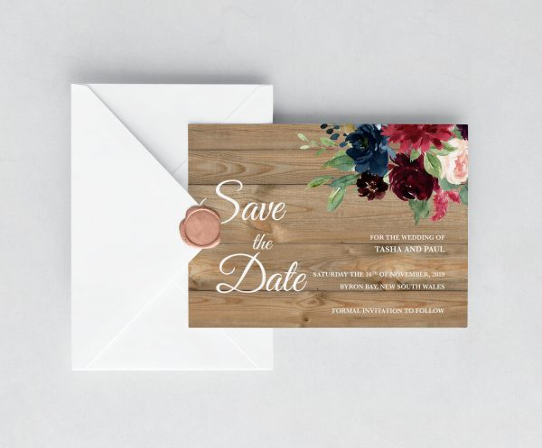 Love Affair Save the Date Cards
