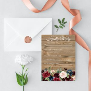 Love Affair RSVP Cards
