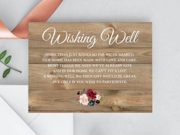 Love Affair Wishing Well Cards