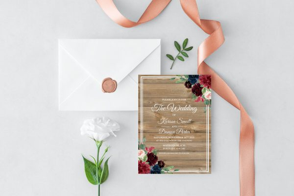 Love Affair Wedding Invitation