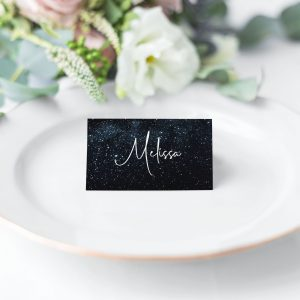 Midnight Sky Place Card