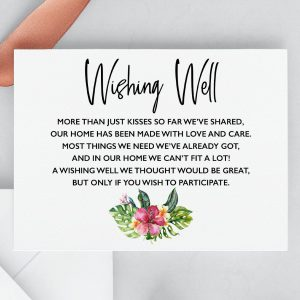 Mahalo Wishing Well Cards