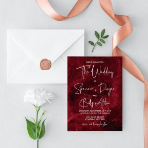 Nebula Wedding Invitation