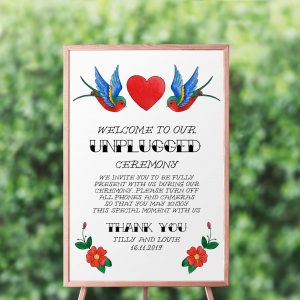 Rockabilly Unplugged Sign
