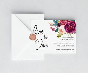 Summer Dreams Save the Date Cards