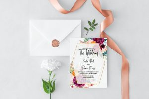 Summer Dreams Wedding Invitation