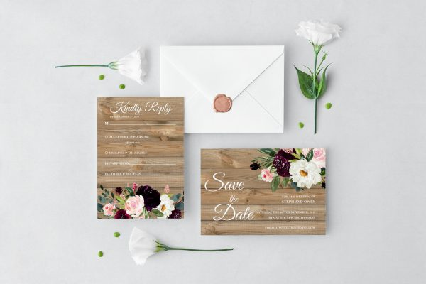 Sugar Plum Gardens Wedding Set